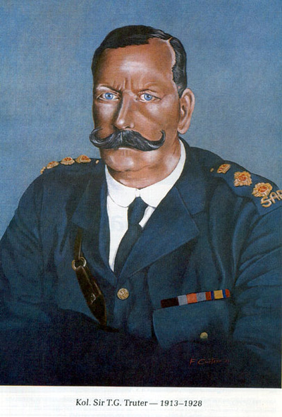 Colonel (Sir) T.G. Truter (1913-1928)