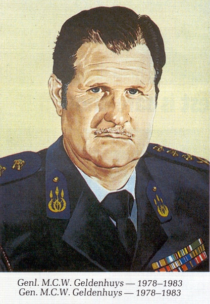 General MCW Geldenhuys