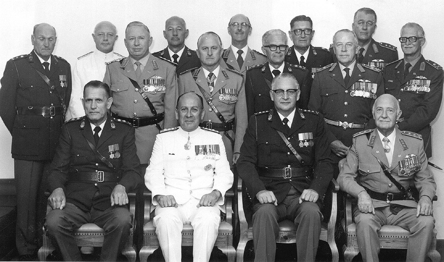 Group photograph - General GL Joubert