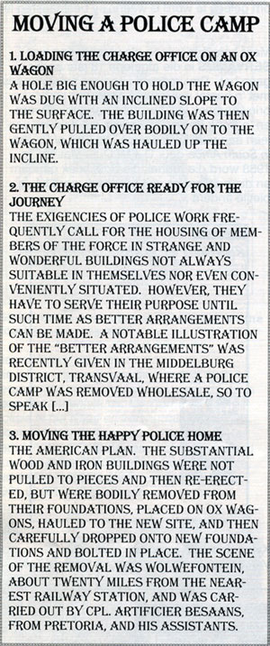 Moving a Police Camp