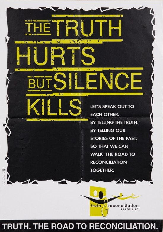 THE TRUTH HURTS BUT SILENCE KILLS